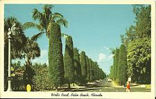 Buy WELLS ROAD POSTCARD PALM BEACH FLORIDA USA
