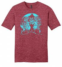 Buy Saiyan Sized Secret Youth Unisex T-Shirt Pop Culture Graphic Tee (XL/Heathered Red) H