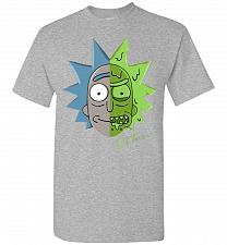 Buy Get Toxic Rick and Morty Unisex T-Shirt Pop Culture Graphic Tee (5XL/Sports Grey) Hum