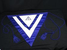 Buy Vintage Masonic Master Mason Apron Regalia Royal Purple Spade Freemason