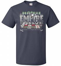 Buy Boardwalk Empire Unisex T-Shirt Pop Culture Graphic Tee (3XL/J Navy) Humor Funny Nerd