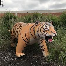 Buy Inflatable Life Like Tiger Party animal zoo museum Jungle