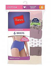Buy 12 Pair Hanes Cool Comfort Women's Cotton Brief Panties #PP40AD