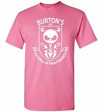 Buy Burton's School Of Nightmares Unisex T-Shirt Pop Culture Graphic Tee (M/Azalea) Humor