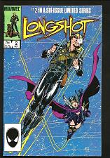 Buy LONGSHOT #2 VF- or better MARVEL COMICS Arthur Adams Ann Nocenti Luckiest X-men