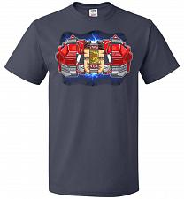 Buy Red Ranger Unisex T-Shirt Pop Culture Graphic Tee (M/J Navy) Humor Funny Nerdy Geeky