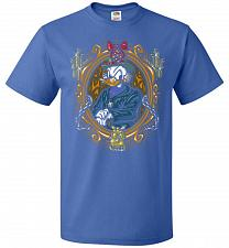 Buy Scrooge McDuck A Miserly Portrait Adult Unisex T-Shirt Pop Culture Graphic Tee (XL/Ro