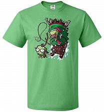 Buy Zime That Stole Christmas Unisex T-Shirt Pop Culture Graphic Tee (L/Kelly) Humor Funn
