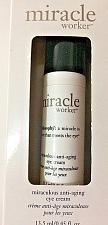 Buy Philosophy Miracle Worker Miraculous Anti-Aging Eye Cream, 0.45-Ounce New in Box