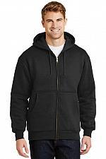 Buy CornerStone® Heavyweight Full-Zip Hooded Sweatshirt Thermal Lining CS620 SM - 6X