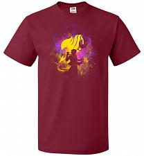 Buy Dragneel Art Unisex T-Shirt Pop Culture Graphic Tee (M/Cardinal) Humor Funny Nerdy Ge