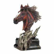 Buy *17222U - Driftwood Stallion Bust Figurine Sculpture