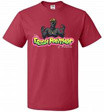 Buy Fresh Panther Unisex T-Shirt Pop Culture Graphic Tee (2XL/True Red) Humor Funny Nerdy