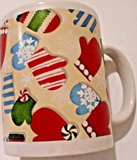 "Buy Hallmark North Pole ""Christmas Mittens"" Ceramic Coffee Mug/Cup"