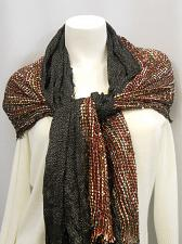 Buy Scarf Shawl Wrap Womens 70X27 Multi Colored 18 COLLECTIONEIGHTEEN All Occasion