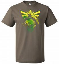 Buy Hero of Time Unisex T-Shirt Pop Culture Graphic Tee (XL/Safari) Humor Funny Nerdy Gee