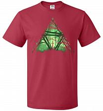 Buy Treeforce Unisex T-Shirt Pop Culture Graphic Tee (L/True Red) Humor Funny Nerdy Geeky