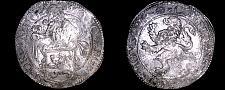 Buy 1589 Netherlands Holland 1 Lion Daalder World Silver Coin