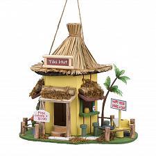 Buy *15970U - Tiki Hut Wood Birdhouse