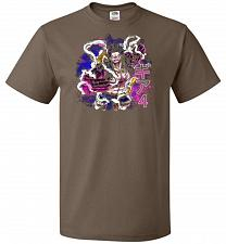 Buy Gear 4 Unisex T-Shirt Pop Culture Graphic Tee (4XL/Chocolate) Humor Funny Nerdy Geeky