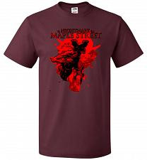 Buy A Nightmare On Maple Street Unisex T-Shirt Pop Culture Graphic Tee (L/Maroon) Humor F
