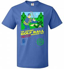 Buy Happy Golf Nintendo Parody Cover Adult Unisex T-Shirt Pop Culture Graphic Tee (4XL/Ro
