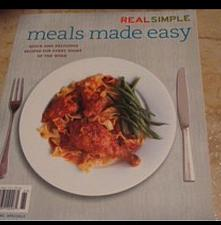 Buy Meals Made Easy Real Simple [Paperback]