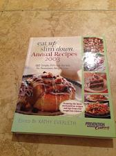 Buy Eat Up Slim Down Annual Recipes 2003 Prevention Cooking hardcover