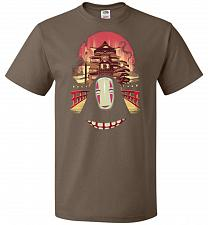 Buy Welcome to the Magical Bathhouse Unisex T-Shirt Pop Culture Graphic Tee (4XL/Chocolat