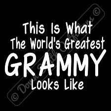 Buy Worlds Greatest Grammy T Shirt Funny Mothers Day (16 Tee Colors)
