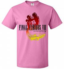 Buy Final Furious 8 Adult Unisex T-Shirt Pop Culture Graphic Tee (5XL/Azalea) Humor Funny