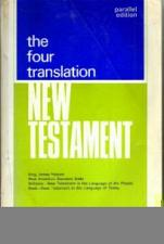 Buy the four translation New Testament