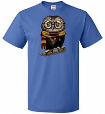 Buy Owly Potter Unisex T-Shirt Pop Culture Graphic Tee (XL/Royal) Humor Funny Nerdy Geeky