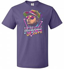 Buy Power Of Love Unisex T-Shirt Pop Culture Graphic Tee (S/Purple) Humor Funny Nerdy Gee