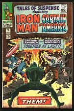 Buy Tales of Suspense 78 Gene Colan Iron Man Capt. America 1966 SLee Jack Kirby THEM