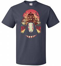 Buy Welcome to the Magical Bathhouse Unisex T-Shirt Pop Culture Graphic Tee (5XL/J Navy)