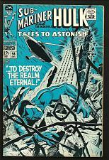 Buy Tales To Astonish #98 Hulk Sub-Mariner Marvel Comics 1967 SILVER AGE Thomas