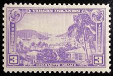 Buy 1938 3c Virgin Islands Territory, Charlotte Amalie Scott 802 Mint F/VF NH