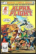 Buy Alpha Flight #1 John Byrne (X-Men) Double-sized Marvel Comics 1983 FF Avengers
