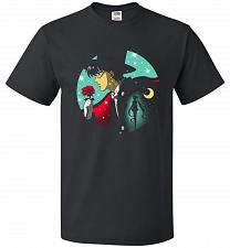 Buy Knight Of The Moonlight Unisex T-Shirt Pop Culture Graphic Tee (M/Black) Humor Funny