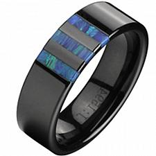 Buy coi Jewelry Tungsten Carbide Ring With shell-TG2338(#US6)