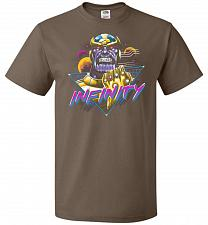 Buy Infinity Unisex T-Shirt Pop Culture Graphic Tee (5XL/Chocolate) Humor Funny Nerdy Gee