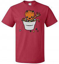 Buy A Pot Full Of Candies Unisex T-Shirt Pop Culture Graphic Tee (3XL/True Red) Humor Fun