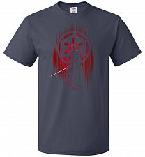 Buy Shadow Of The Empire Unisex T-Shirt Pop Culture Graphic Tee (4XL/J Navy) Humor Funny