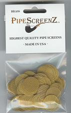 "Buy (13/16"") 100+ Count BRASS Pipe Screens 0.812"" (20.624 mm) Made in USA"