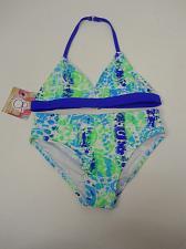 Buy GIRLS 2PC Bikini Set OP Size XS 4/5 Halter Top Print Spaghetti Straps Swimwear