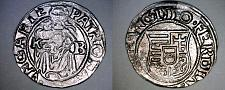 Buy 1550-KB Hungary 1 Denar World Silver Coin - Madonna with Child - Ferdinand I