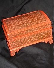 Buy ANTIQUE BURMESE JEWELRY BOX OR MONEY BOX VINTAGE: 1890s