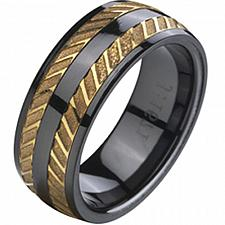 Buy coi Jewelry Tungsten Carbide Ring-TG325A(US9/9.5)