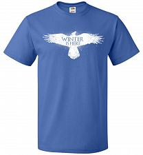 Buy Winter Is Here Unisex T-Shirt Pop Culture Graphic Tee (6XL/Royal) Humor Funny Nerdy G